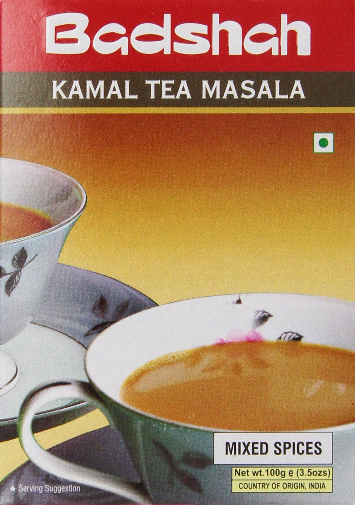 Badshah Masala, Kamal Tea, 3.5-Ounce Box (Pack of 12)