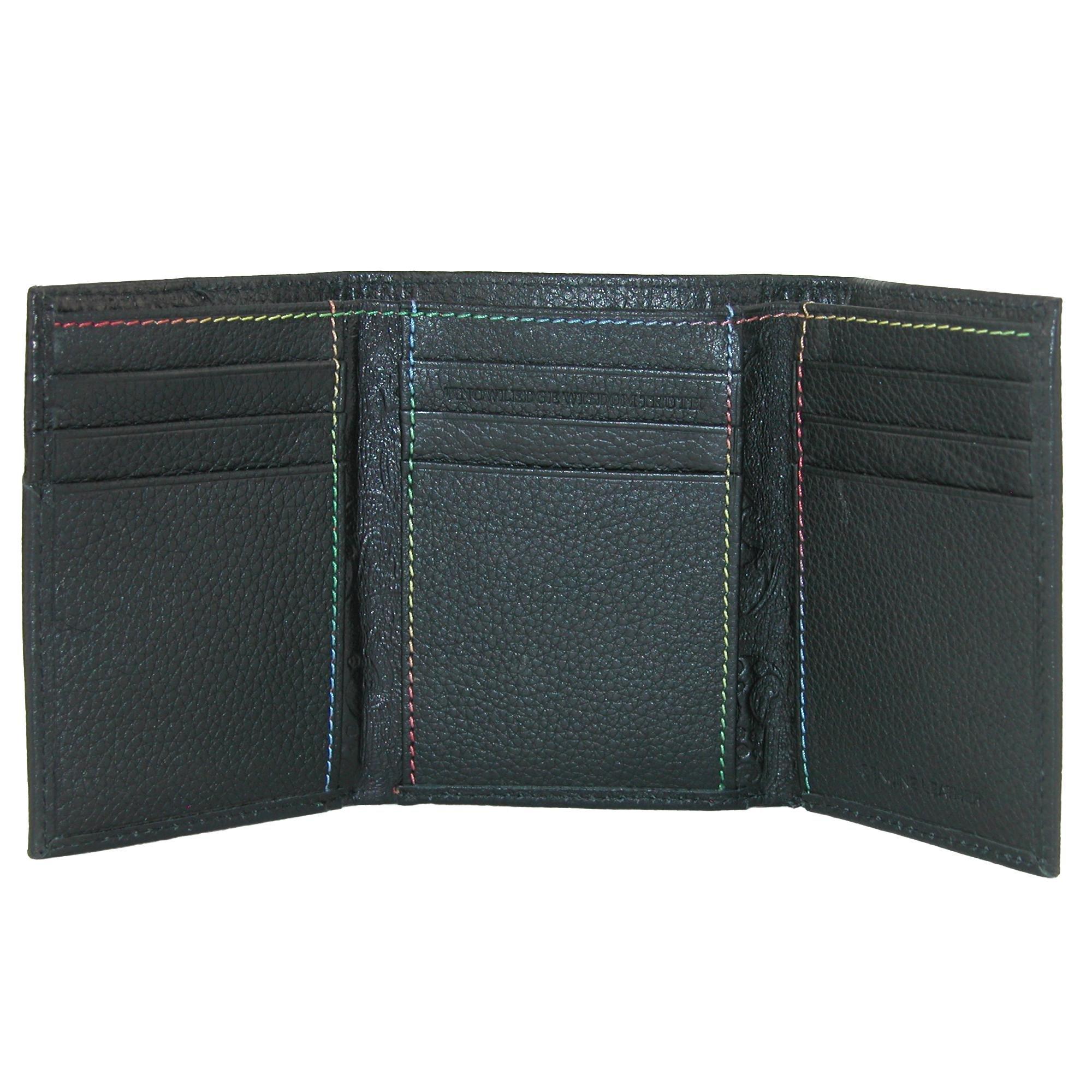 Robert Graham Men's Clarke Trifold Wallet, Black, One Size by Robert Graham (Image #2)