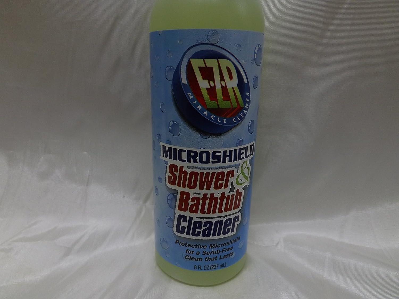 Amazon.com: EZR Microshield Shower Bathtub Cleaner, 8oz: Health U0026 Personal  Care