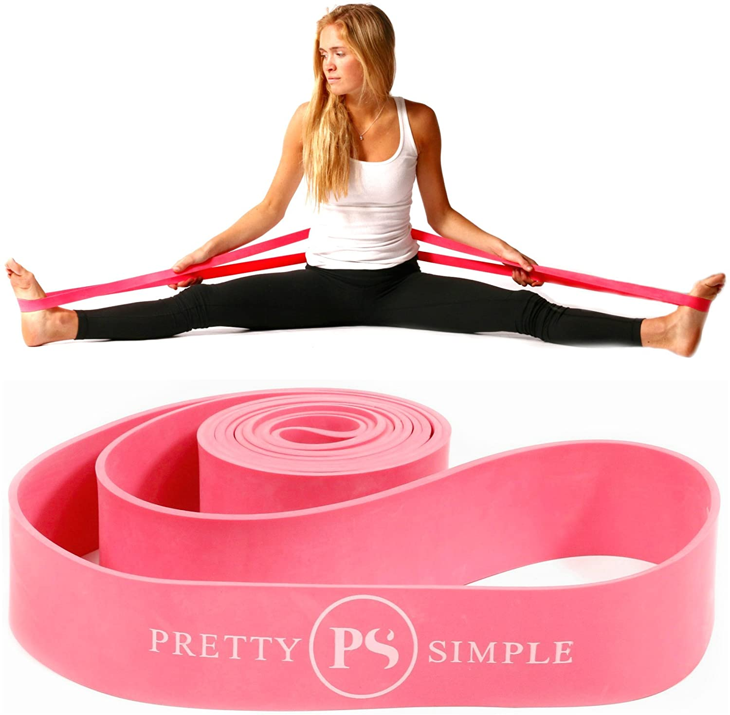 Exercise Stretch Bands for Physical Therapy 2 Resistance Bands for Dance and Ballet Fitness Bands for Stretching Gym Gymnastics Dance Stretch Band for Recovery