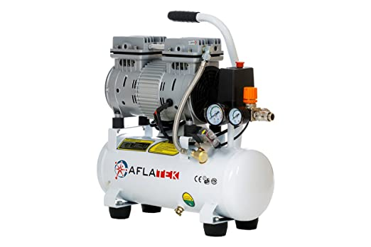 Hydraulics, Pneumatics, Pumps & Plumbing Aflatek Silent Compressor 10 Liter Oil Free Low Noise 66db Clinic Air Compressor Air Compressors