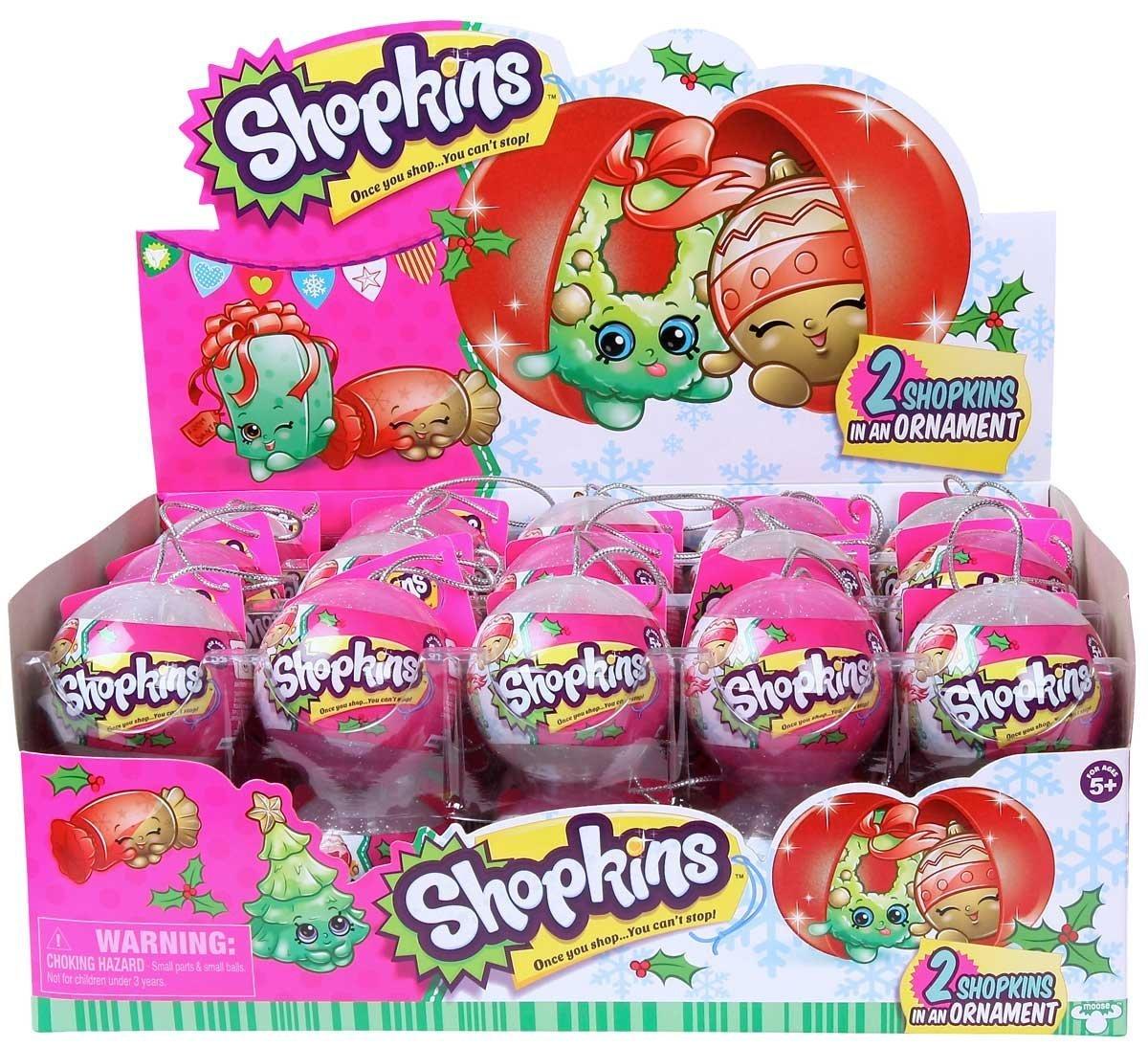 Amazon.com: Shopkins Exclusive 2016 Christmas Surprise - 2 Pack in ...