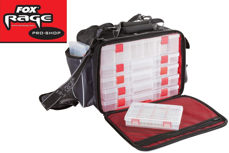Angeltasche Tackletasche zum Spinnfischen Fox Rage Voyager Large Shoulder Bag