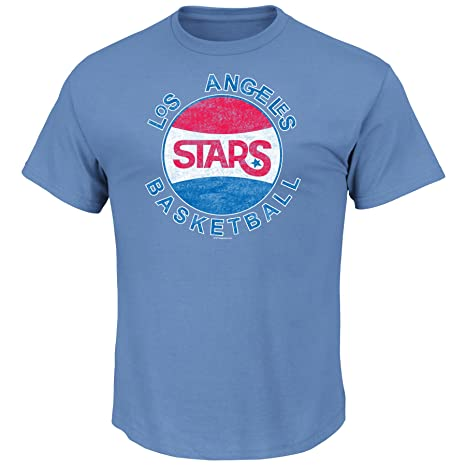 NBA Los Angeles Stars Men s Clippers Weathered Post Up Kaa Short Sleeve  Basic Crew Neck T fde8346df