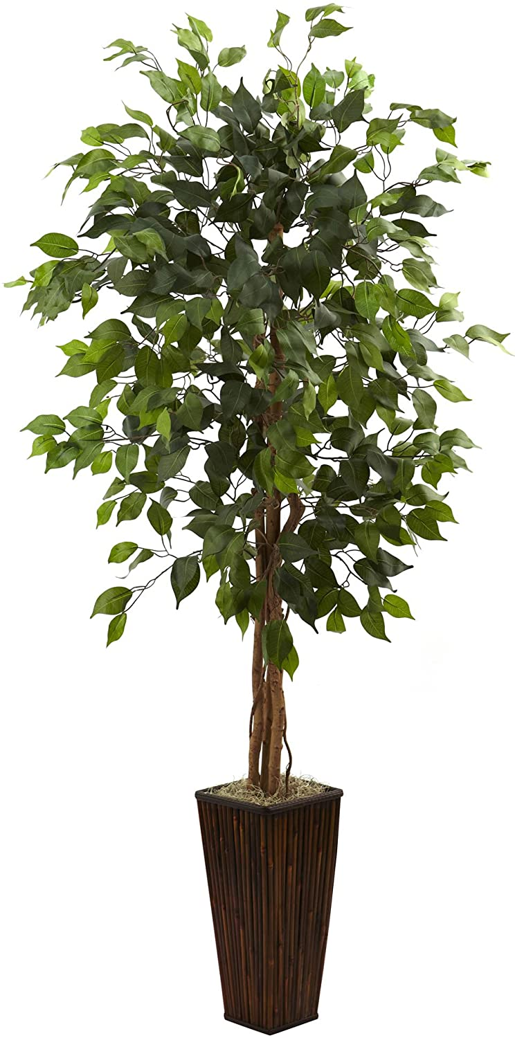 """Details about  /GrubValue Artificial Fortune Tree Plant with Pot 33.5/"""" Green"""