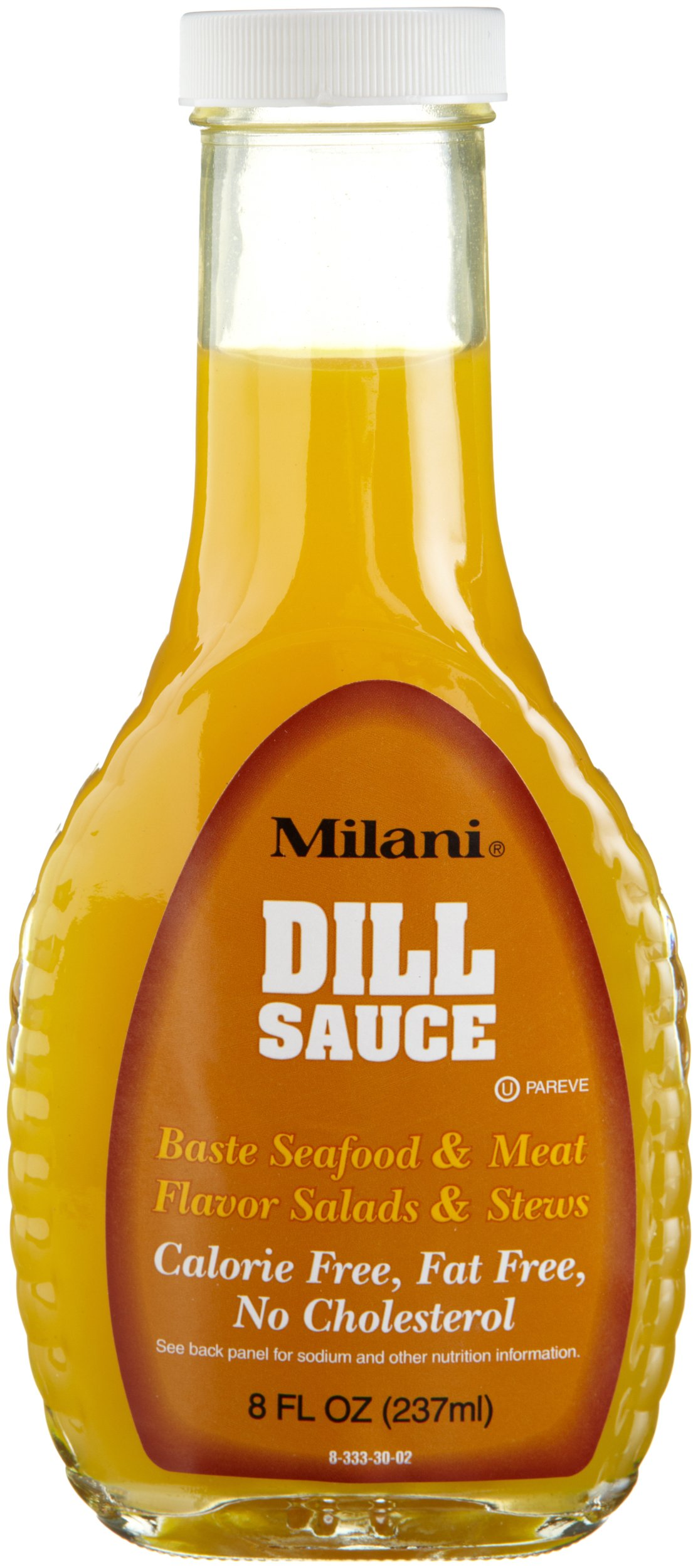 Milani Dill Sauce, 8-Ounce Glass Bottles (Pack of 6)