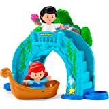 Fisher-Price Little People Disney Princess, Ariel Vehicle Playset