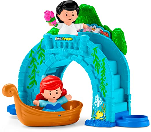 Fisher Price Little People Disney Princess, Ariel Vehicle Playset by Fisher Price