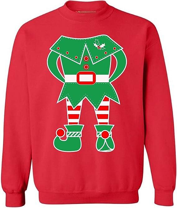 Amazon.com: Awkward estilos unisex elfo sudadera suéter ...