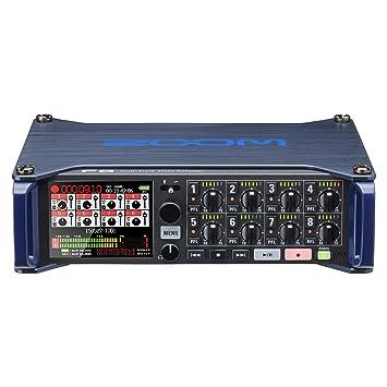 Amazon com: Zoom F8 MultiTrack Field Recorder: Musical Instruments