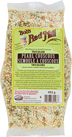 Bob S Red Mill Tricolor Pearl Couscous Amazon Ca Grocery