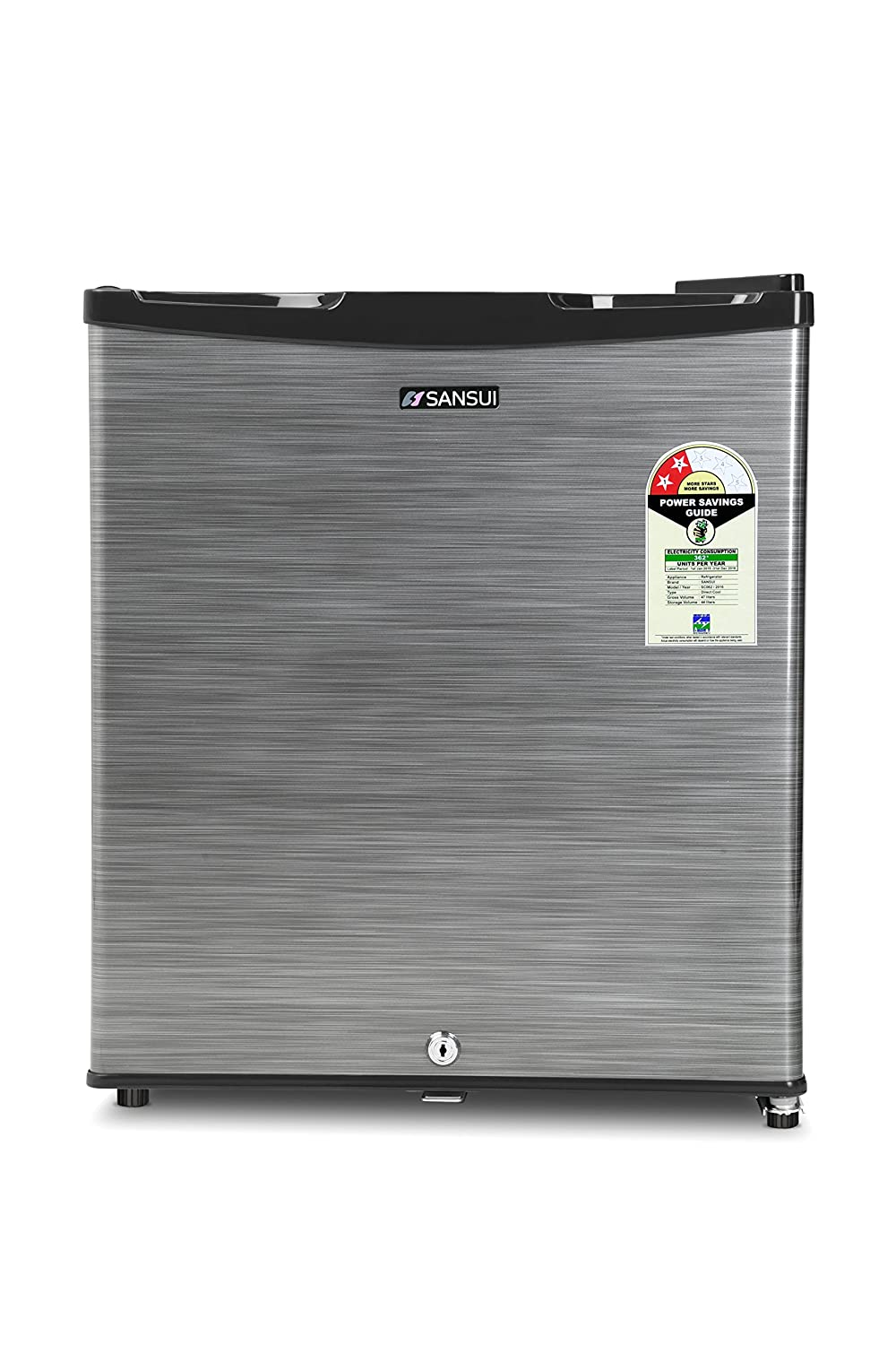 Sansui 50 L 2 Star Direct Cool Single Door Refrigerator Sc062psh Silver Hairline In Home Kitchen