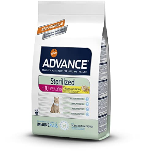 ADVANCE - ADVANCE STERILIZED +10 AÑOS - 1.5 Kg