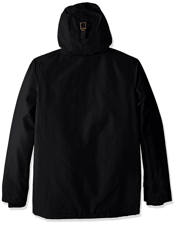 Obey Chaquetas Hillman con capucha Negro, negro, XL: Amazon ...