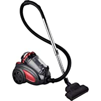New 2800W Vacuum Cleaner Bagless Cyclonic with Turbo Head (Red)