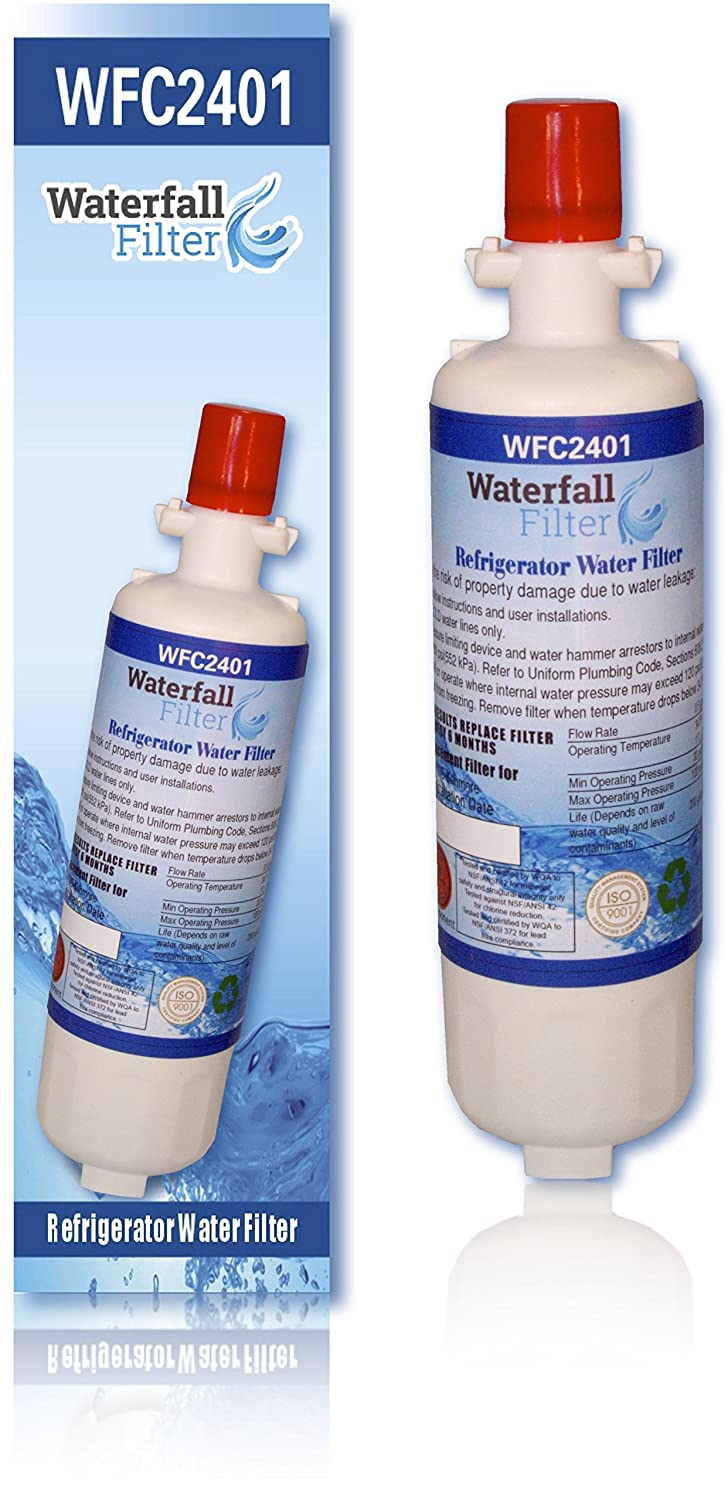 Waterfall Filter - Compatible with LG LT700P Water Filter - Refrigerator