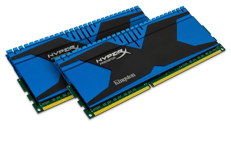 Kingston Technology HyperX Predator 8GB Kit 2x4GB 1866MHz DDR3 PC3-15000 CL9 DIMM Motherboard Memory XMP T2 Series KHX18C9T2K2 8X