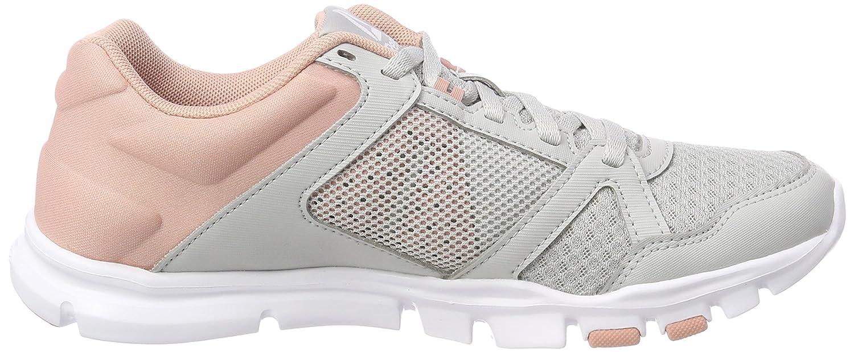 Cn1251, Chaussures de Fitness Femme, Gris (Skull Greychalk Pinkwhite), 37 EUReebok