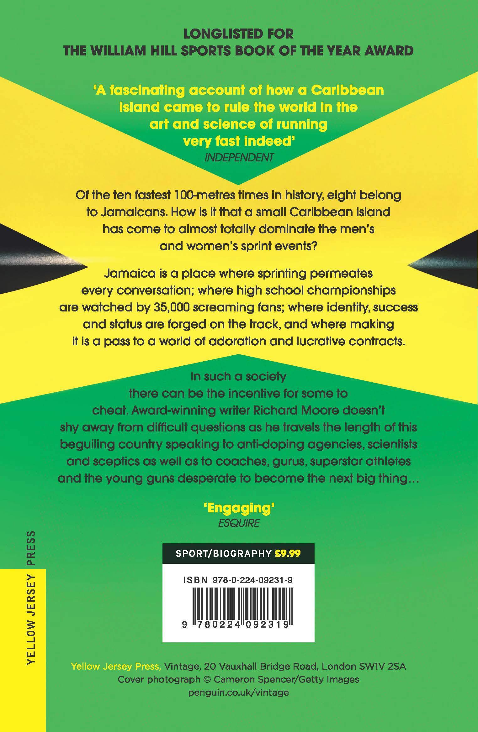 The Bolt Supremacy: Inside Jamaica's Sprint Factory: Amazon.co.uk: Richard  Moore: 9780224092319: Books