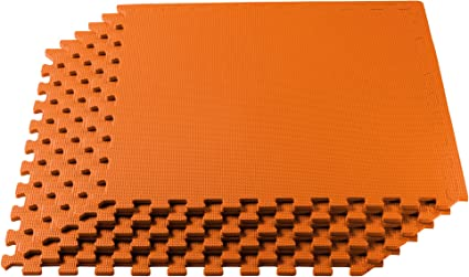 24 square feet classroom gym 24 inch tan puzzle mats eva foam top safety rated