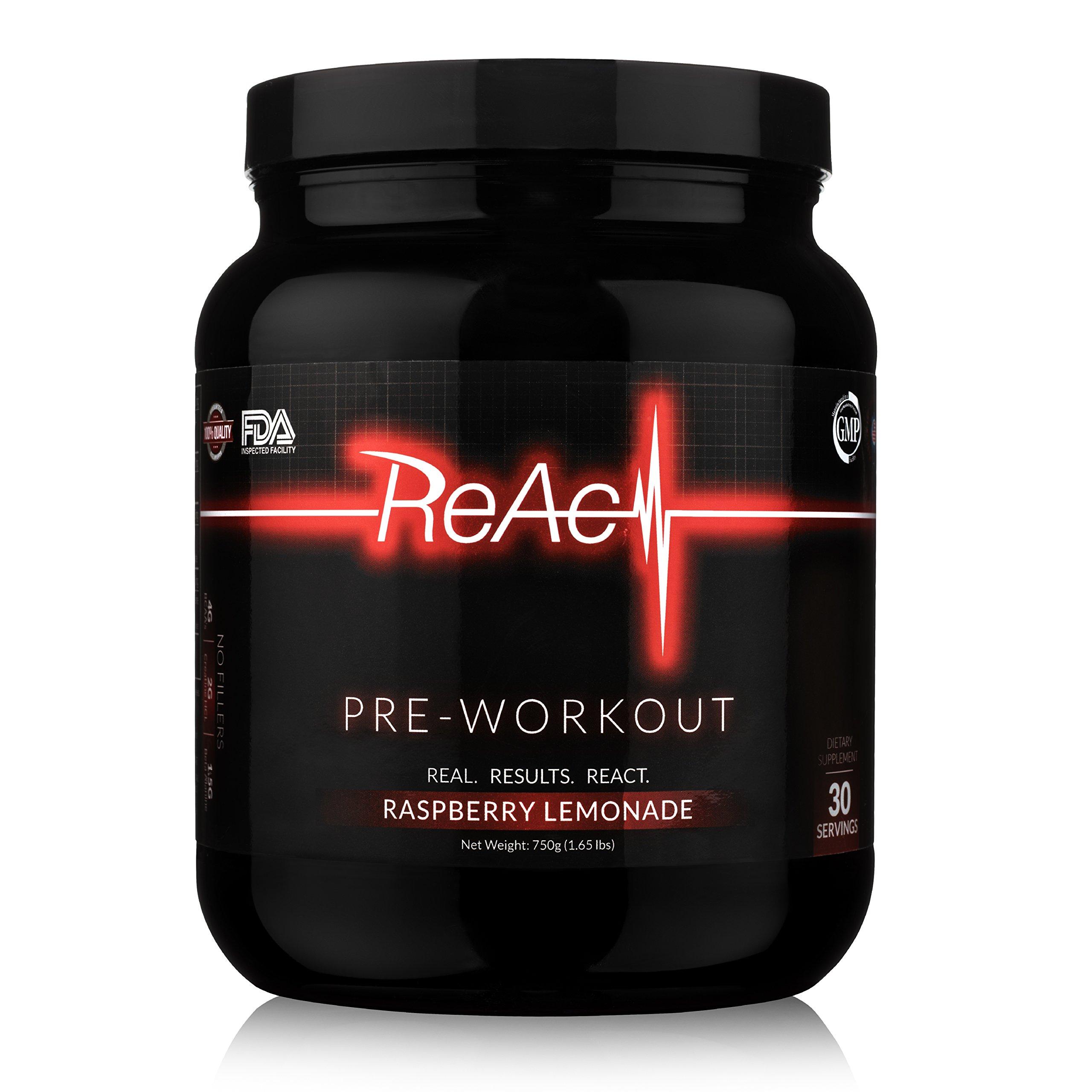 ReAct Preworkout
