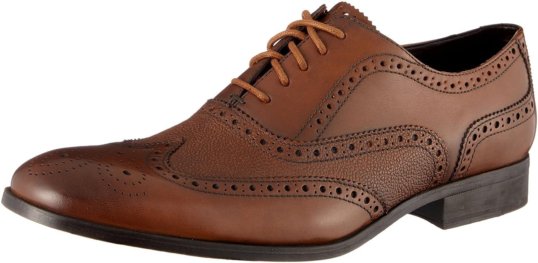 Clarks Gilmore Limit, Zapatos de Cordones Brogue para Hombre