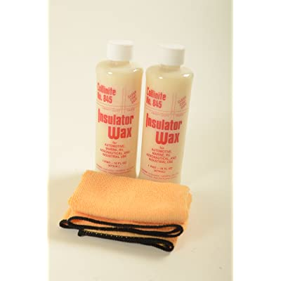 Collinite Insulator Wax 2 Pack and Towel Combo: Automotive