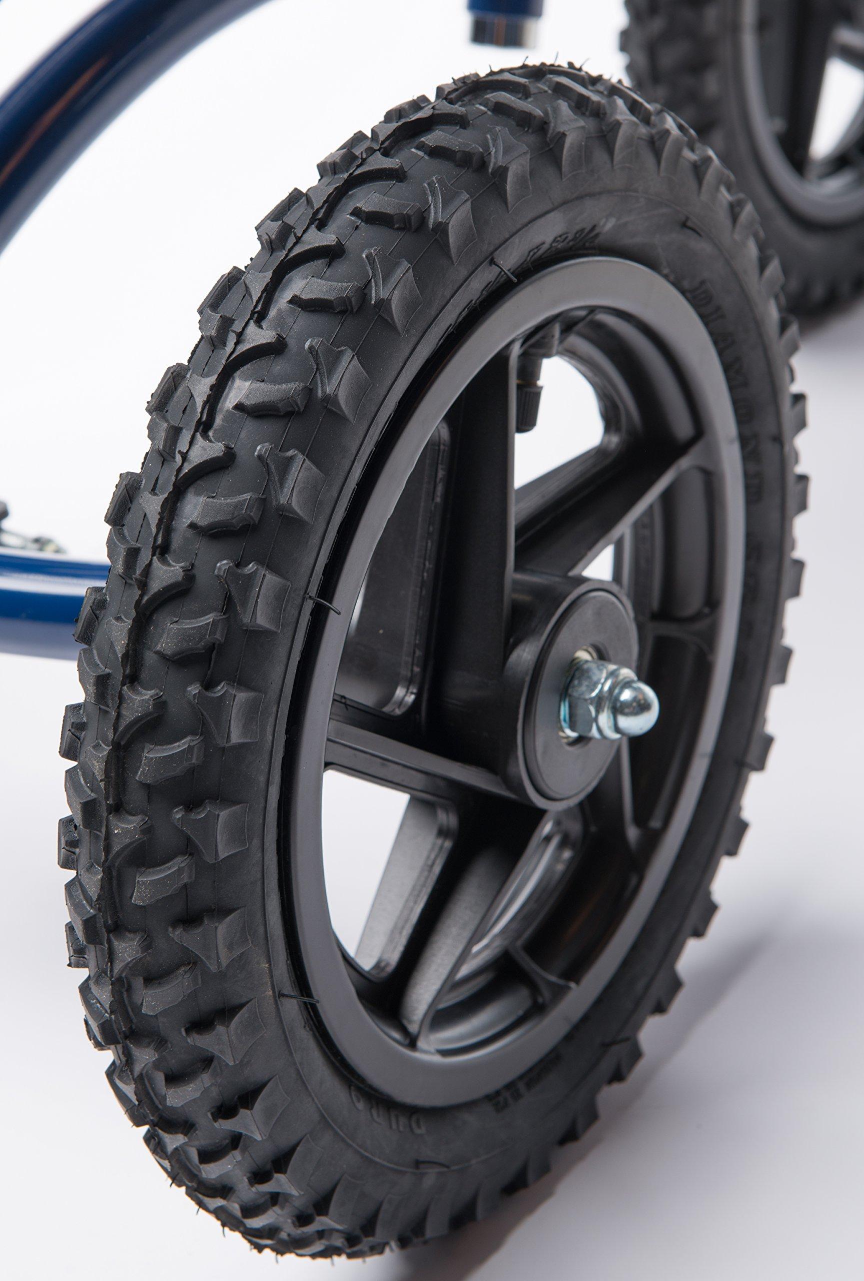 KneeRover 12 inch Replacement Pneumatic Wheel for All Terrain KneeRover Knee Walker by KneeRover