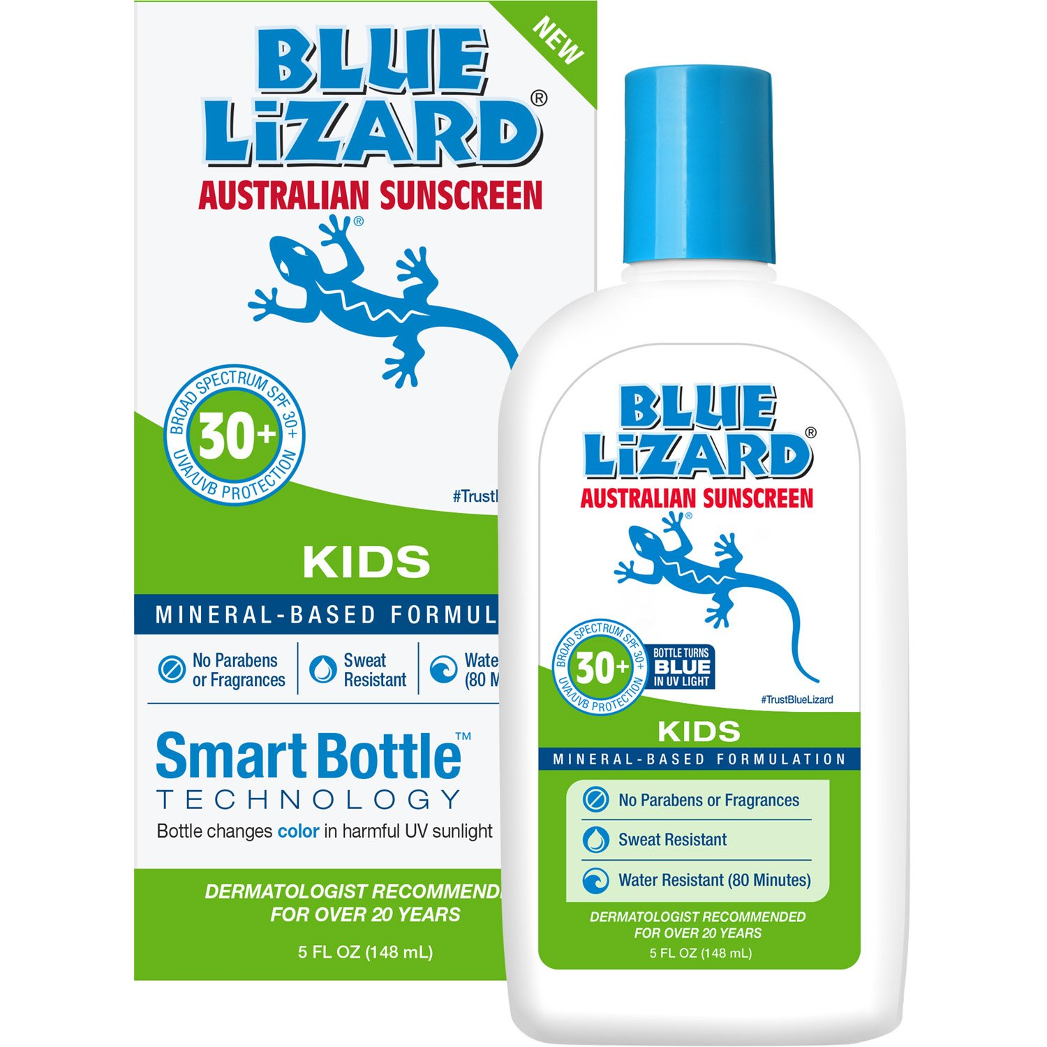 Blue Lizard Australian Sunscreen Kids, 5oz Bottle