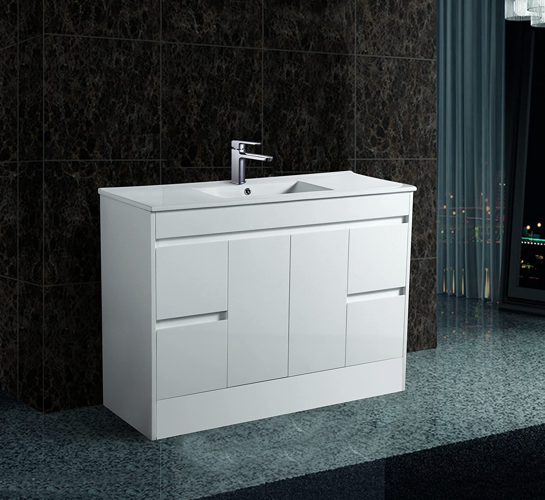 Sorrento Bathrooms 1200mm Bathroom Cabinet 100% Waterproof Free ...