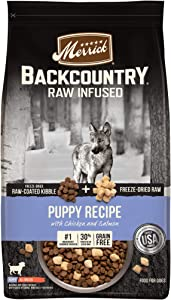 Merrick Backcountry Raw Infused Grain Free Dry Dog Food Puppy Recipe - 20.0 lb Bag