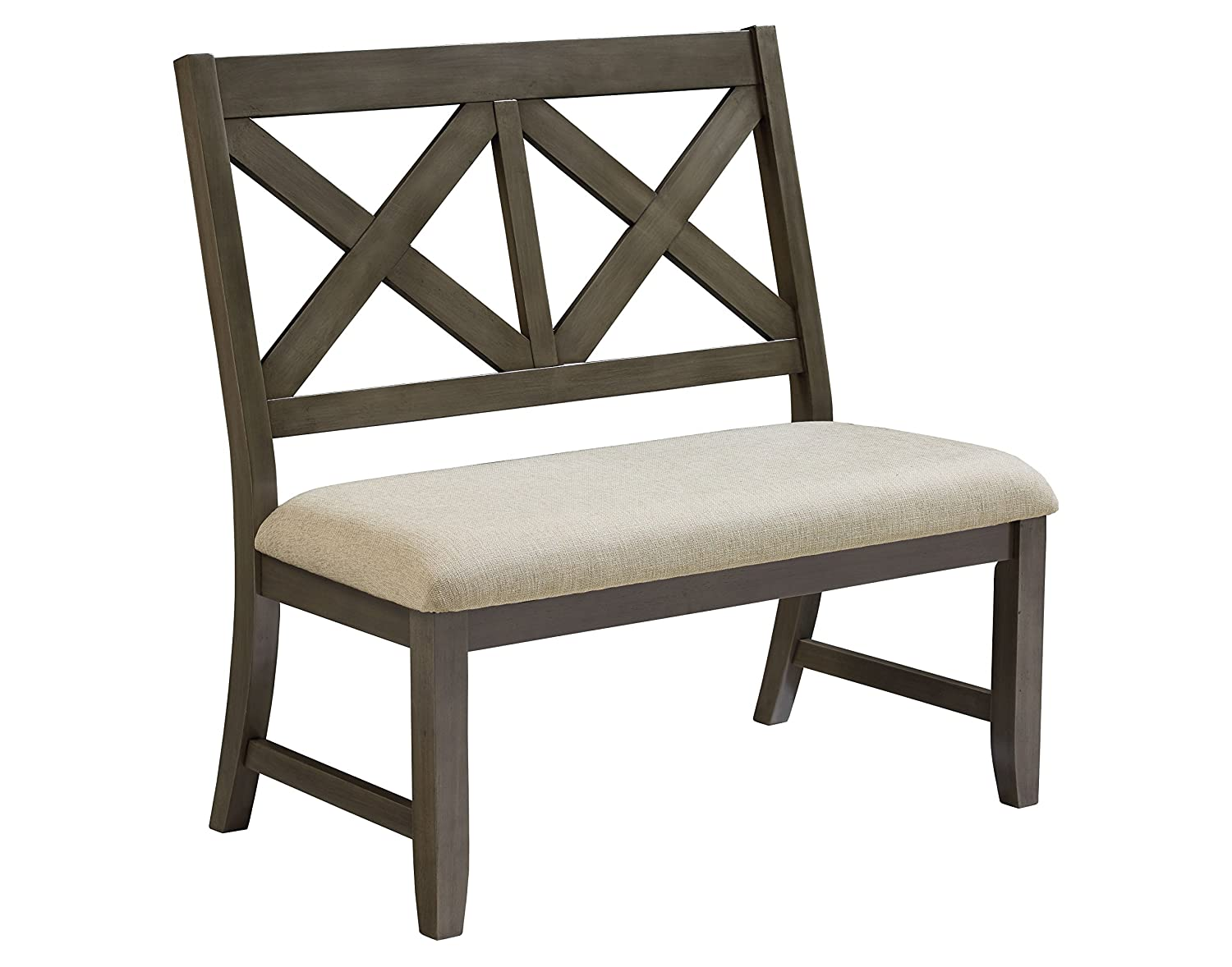 Standard Furniture Omaha Bench, Saddle Brown 16189