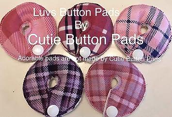 a0dbb13e80 Amazon.com   Cutie Button Pads G j Tube Pad 5 Pack (plaids) (Plaid girls)    Baby