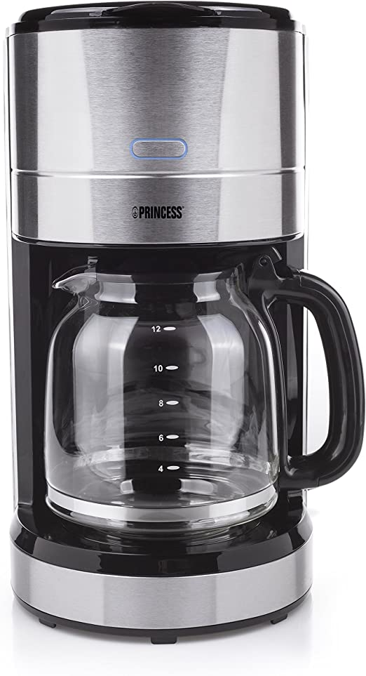 Princess 246001 Cafetera de Acero Inoxidable Deluxe Stainless ...