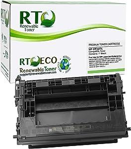 Renewable Toner Compatible Toner Cartridge High Yield Replacement for HP 37X CF237X for Laserjet Enterprise MFP M631 M632 M633 M607 M608 M609