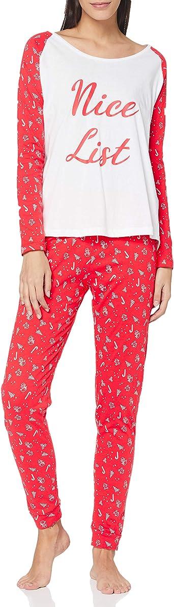 Brave Soul Listladies Juego de Pijama para Mujer