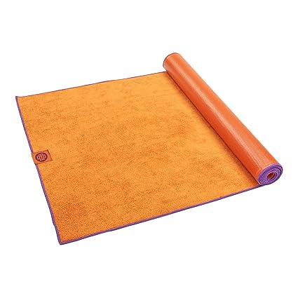 Amazon.com : Gaiam Banyan and Bo Ultra-Dri Hot Yoga Mat, 2mm ...