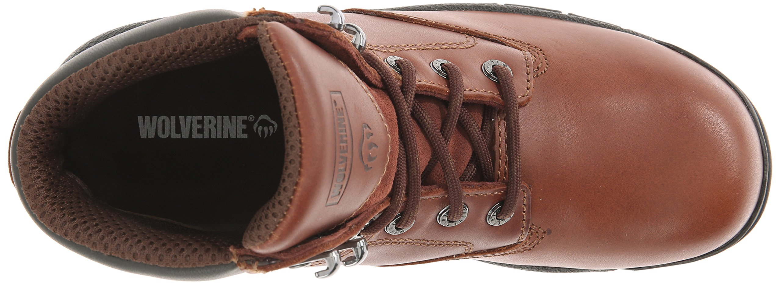 Wolverine Women's Harrison WMS 6'' LACE UP-W, Brown, 10 M US by Wolverine (Image #8)