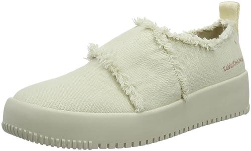 Calvin Klein Jeans R4060 Zapatillas Mujer, Marfil (OFW), 39 EU: Amazon.es: Zapatos y complementos