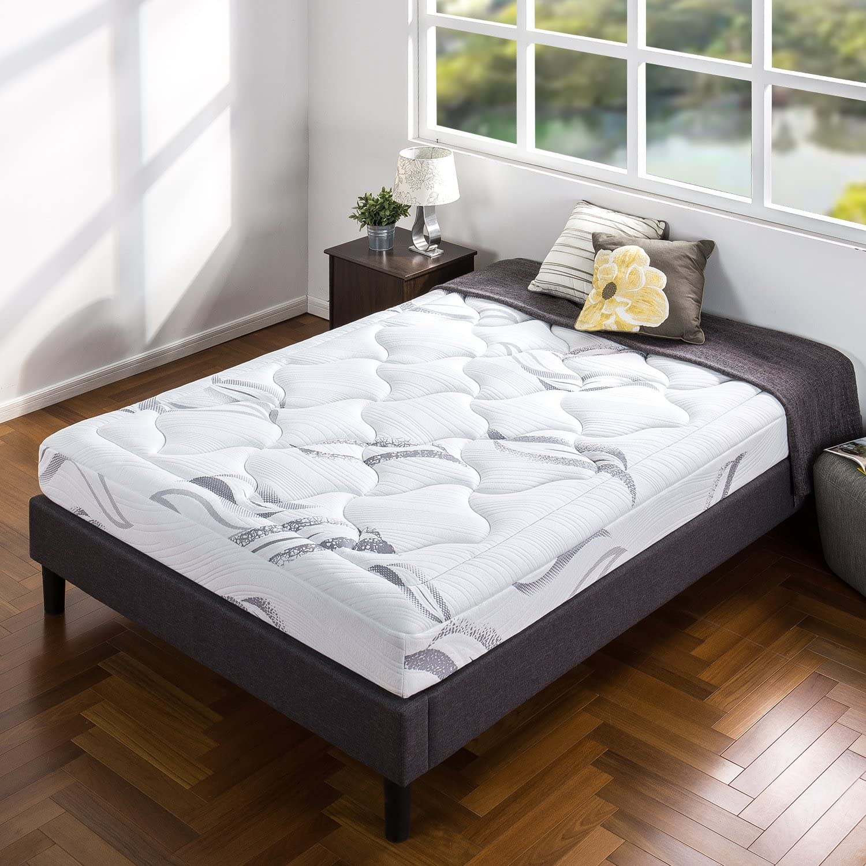 ZINUS 8 Inch Cloud Memory Foam Mattress / Pressure Relieving / Bed-in-a-Box / CertiPUR-US Certified, Queen