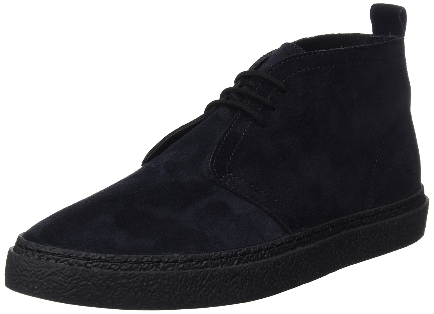 Frot Perry Herren Hawley Mid Suede Oxfords schwarz