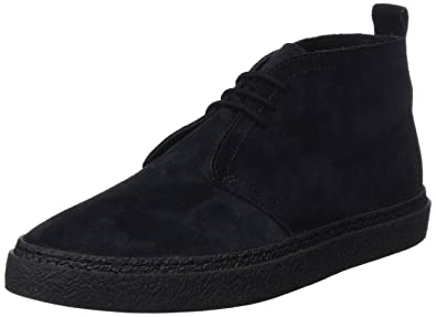 Fred Perry Men's Hawley Mid Suede, Navy, ...