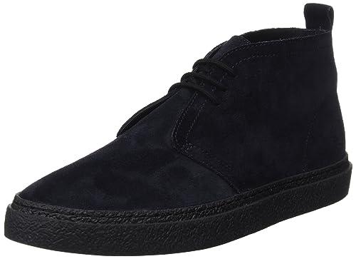 Fred Perry Hawley Mid Suede, Zapatos de Cordones Oxford para Hombre: Amazon.es: Zapatos y complementos