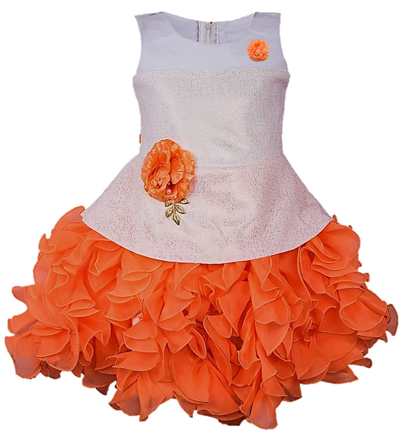 b5e856888 My Lil Princess Baby Girls Birthday Party wear Frock Dress ...