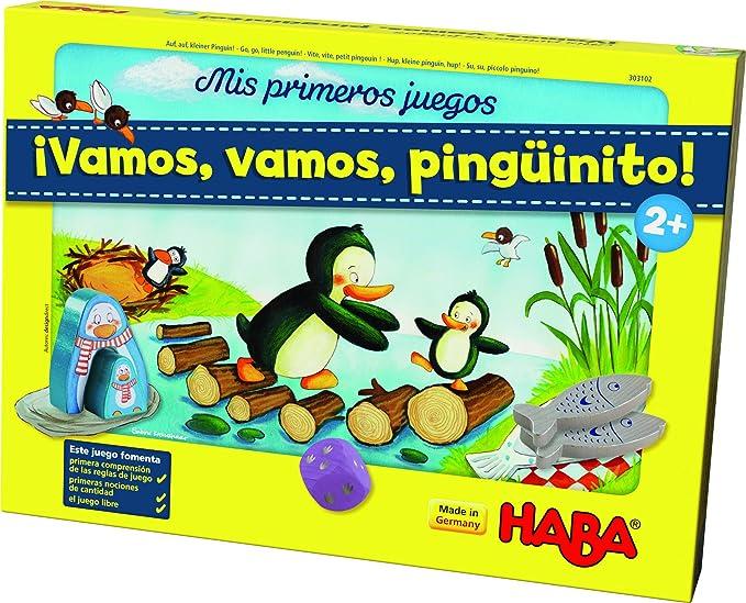 HABA-Mis Primeros Juegos, Vamos, pingüinito (303102): Amazon.es ...