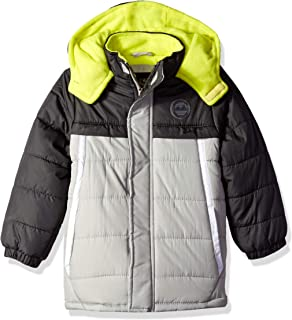 6051a9601 Amazon.com  Wippette Little Boys  Toddler Puffer Coat with Stripe ...