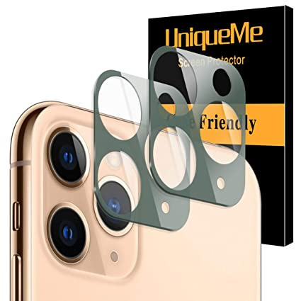 6.1 Inch Vidrio Templado Protector de Lente de c/ámara para iPhone 11 HD Film Cristal Templado UniqueMe 2 Pack 2 Pack Protector de Pantalla para/iPhone 11 9H Dureza