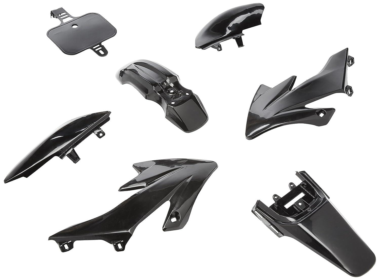 TMS PSHNK Black Plastic Fairing (7 PCS Honda CRF XR 50 CRF 125cc SSR PRO Pit Dirt Bike)