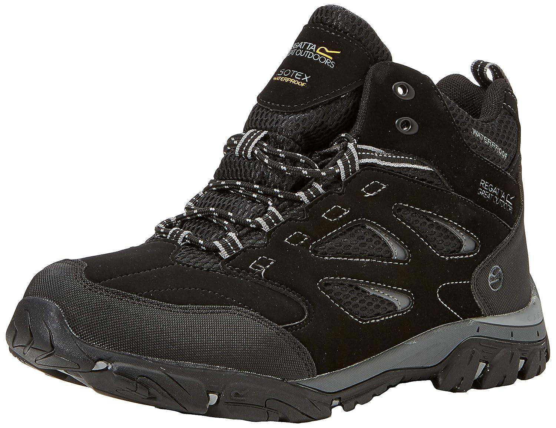 (noir Granite 9v8) 10 UK (45 EU) EU REGV7  Regatta Holcombe Iep Mid, Chaussures de Randonnée Hautes Homme