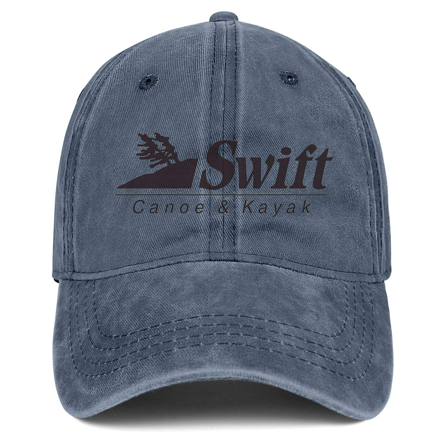 Dad Hats Swift-Canoe-Logo-01 Snapback Mens Women Adjustable Denim Rock Caps